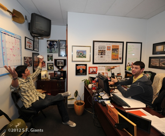 AT&T Park, SF Giants, San Francisco Giants, Javier Lopez, Brandon Belt