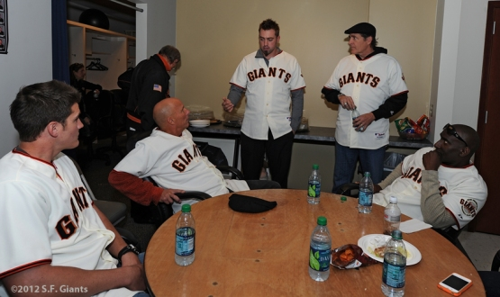 AT&T Park, SF Giants, San Francisco Giants, Fan Fest, Brett Pill, Tim Flannery, Jeremy Affeldt, Dave Righetti, Roberto Kelly