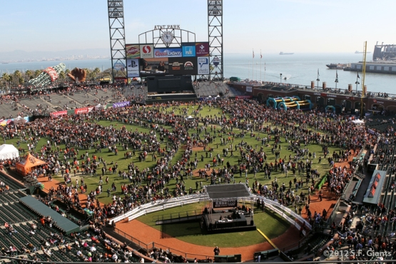AT&T Park, SF Giants, San Francisco Giants, Fan Fest