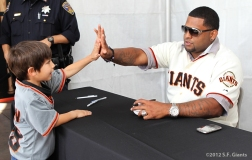 AT&T Park, SF Giants, San Francisco Giants, Fan Fest, Pablo Sandoval