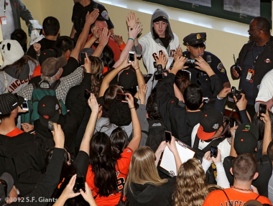 AT&T Park, SF Giants, San Francisco Giants, Fan Fest, Tim Lincecum