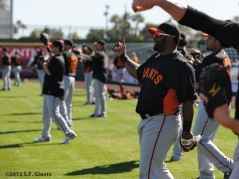 Spring Training, S.F. Giants, San Francisco Giants, Pablo Sandoval