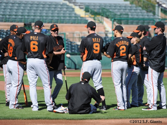Spring Training, S.F. Giants, San Francisco Giants, Ron Wotus