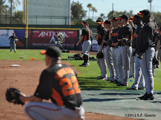 Spring Training, S.F. Giants, San Francisco Giants, Brian Wilson