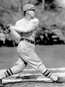 Mel Ott, New York Giants, NY Giants