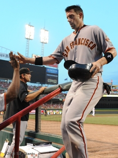 Chris Stewart, S.F. Giants, San Francisco Giants