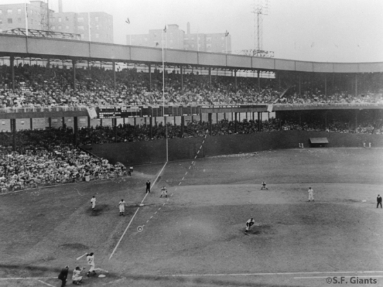 Bobby Thomson, Ralph Brance, The Polo Grounds