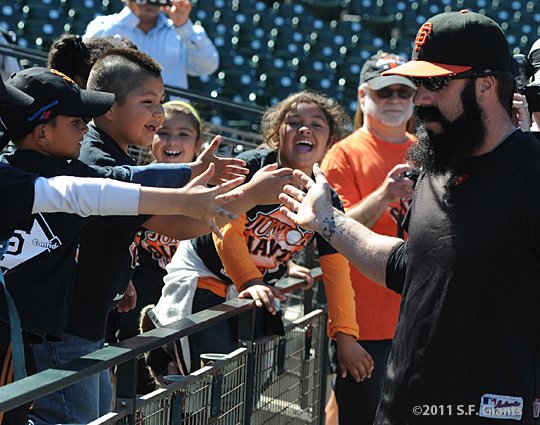 S.F. Giants, San Francisco Giants, Photo, Brian Wilson, Jr. Giants, Community