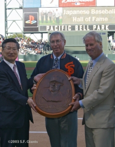 S.F. Giants, San Francisco Giants, Photo, Lefty O'Doul, Peter Magowan