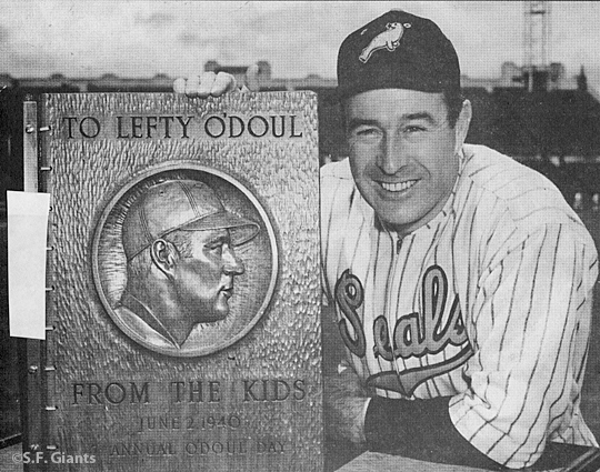 S.F. Giants, San Francisco Giants, Photo, Lefty O'Doul