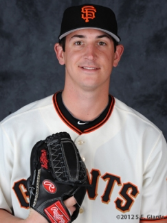 Eric Surkamp, S.F. Giants, San Francisco Giants, Photo