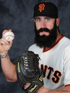 Brian Wilson, S.F. Giants, San Francisco Giants, Photo