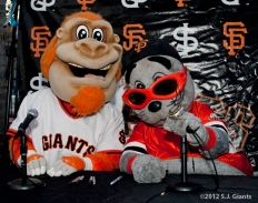 S.F. Giants, San Francisco Giants, Photo, Lou Seal