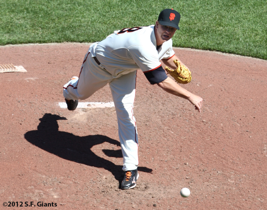 S.F. Giants, San Francisco, Photo, 2012, Matt Cain