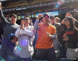 Fans, S.F. Giants, San Francisco Giants, 2012, Photo