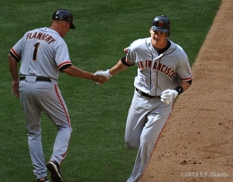 S.F. Giants, San Francisco Giants, 2012, Photo, Bret Pill