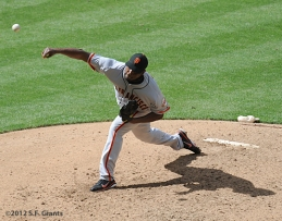 S.F. Giants, San Francisco Giants, 2012, Photo, Guillermo Mota
