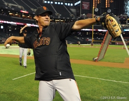 S.F. Giants, San Francisco Giants, Photo, 2012, Mark Gardner