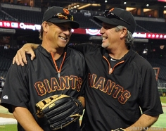 S.F. Giants, San Francisco Giants, 2012, Photo, Mark Gardner, Ron Wotus