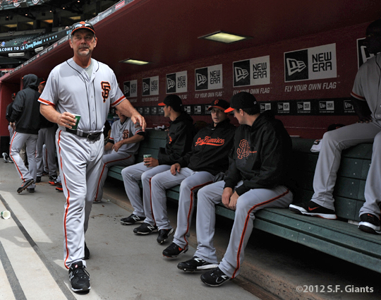 S.F. Giants, San Francisco Giants, 2012, Photo, Bruce Bochy