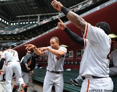 S.F. Giants, San Francisco Giants, 2012, Photo, Manny Burress