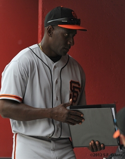 S.F. Giants, San Francisco Giants, Photo, 2012, Roberto Kelly