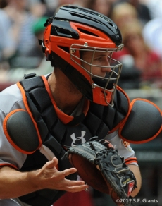 S.F. Giants, San Francisco Giants, 20120, Photo, Buster Posey