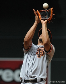 S.F. Giants, San Francisco Giants, 2012, Photo, Manny Burriss