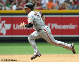 S.F. Giants, San Francisco Giants, 20120, Photo, Gregor Blanco