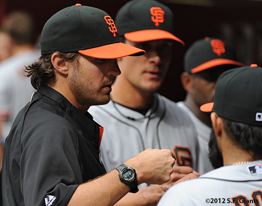 S.F. Giants, San Francisco Giants, 20120, Photo, Barry Zito