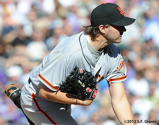 S.F. Giants, San Francisco Giants, 2012, Photo, Barry Zito