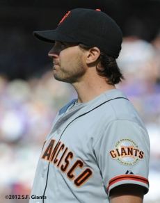 S.F. Giants, San Francisco Giants, Photo, 2012, Barry Zito
