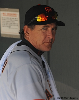 S.F. Giants, San Francisco Giants, Photo, 2012, Dave Righetti