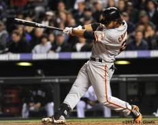 S.F. Giants, San Francisco Giants, Photo, 2012, Brandon Crawford