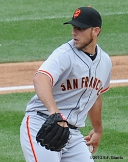 S.F. Giants, San Francisco Giants, Photo, 2012, Madison Bumgarner