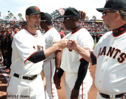 S.F. Giants, San Francisco Giants, Photo, 2012, Ryan Vogelsong, Bill Hayes