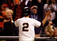San Francisco Giants, S.F. Giants, 2012, photo, Emmanuel Burriss