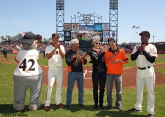 San Francisco Giants, S.F. Giants, photo, 2012, Emmanuel Burriss, Shawon Dunston