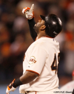 S.F. Giants, San Francisco Giants, 2012, Pablo Sandoval, Photo