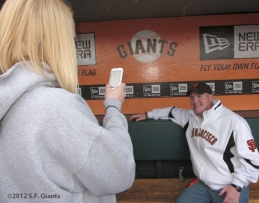 S.F. Giants, Phillip Ditto, San Francisco Giants, 2012, Photo