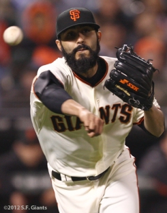 S.F. Giants, San Francisco Giants, 2012, Photo, Sergio Romo