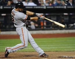 Angel Pagan, S.F. Giants, San Francisco Giants, 2012, Photo