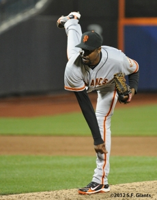 S.F. Giants, San Francisco Giants, Photo, 2012, Guillermo Mota