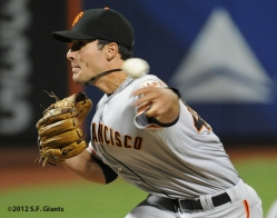 S.F. Giants, San Francisco Giants, 2012, Photo, Javier Lopez