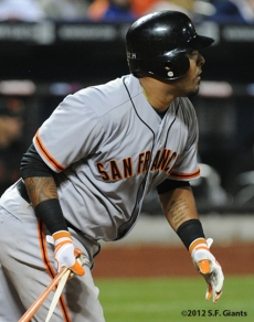 S.F. Giants, San Franicsoc Giants, Photo, 2012, Hector Sanchez