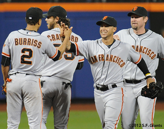 S.F. Giants, San Francisco Giants, 2012, Photo, Team