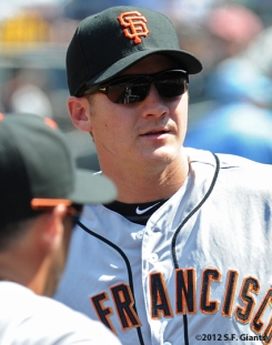 S.F. Giants, San Francisco Giants, Photo, 2012, Brett Pill