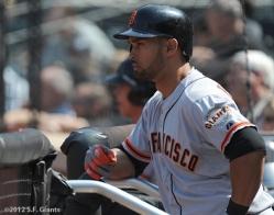 S.F. Giants, San Franciscio Giants, Angel Pagan, 2012, Photo