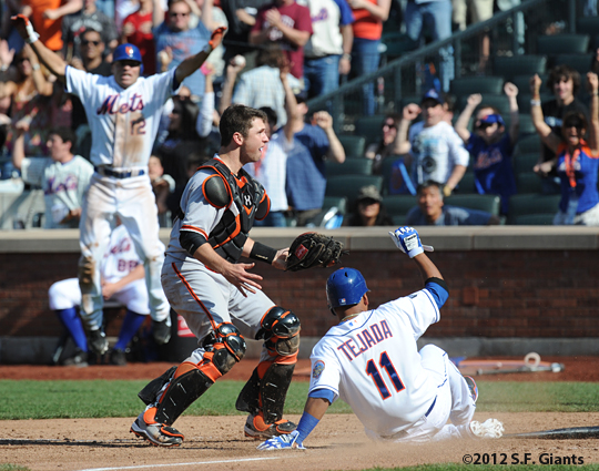S.F. Giants, San Francisco Giants, 2012, Photo, Buster Posey