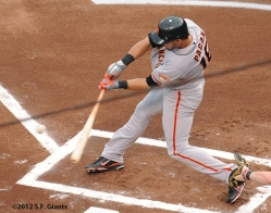 Angel Pagan, 2012, Photo, San Francisco Giants, S.F. Giants